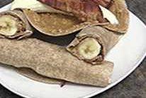 Bacon banana wrap