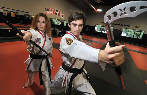 Mother-son pair are masters of martial arts - Gainesville Times