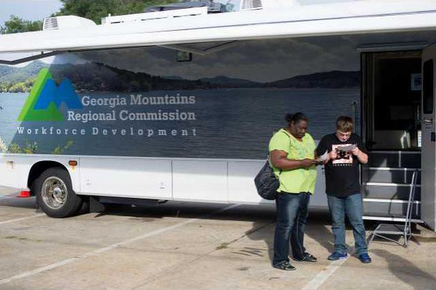 Job Blitz event offers hope to Gainesvilles unemployed