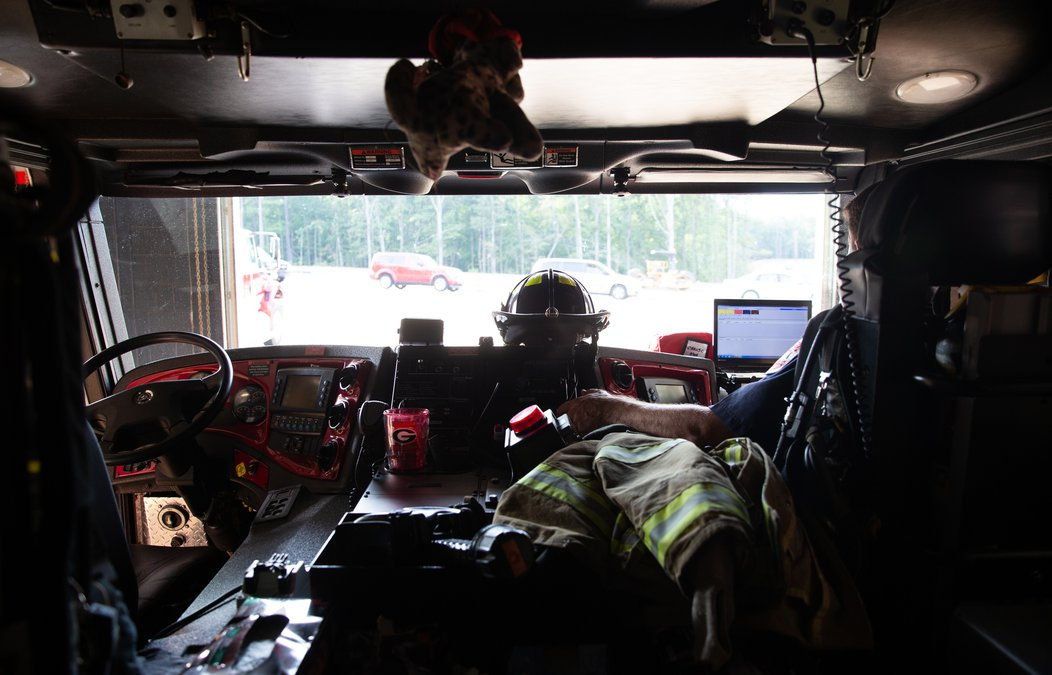 24 hours inside Flowery Branch's Fire Station 5 - Gainesville Times