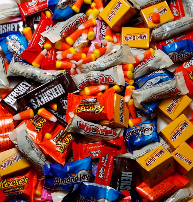 Can You Guess Georgia's Best-selling Halloween Candy