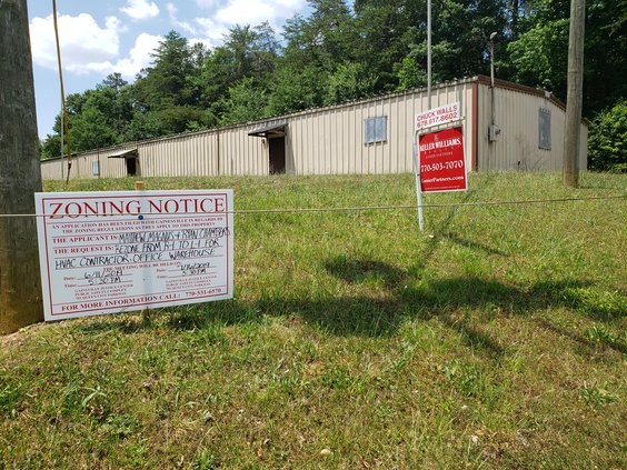 Business seeks rezoning for warehouse