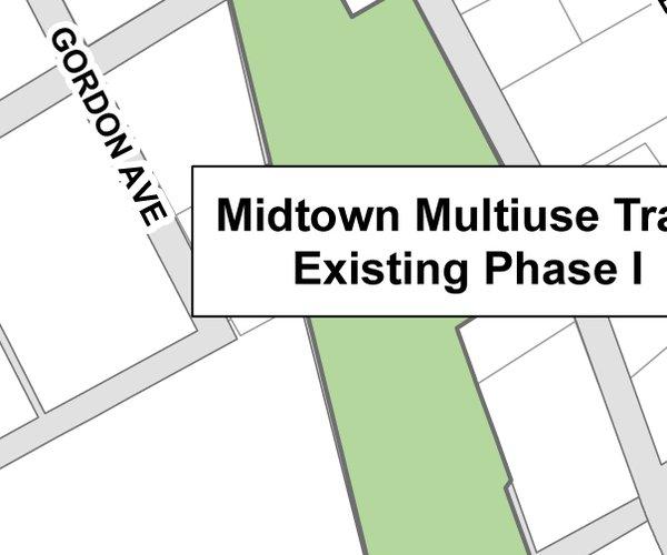 Midtown Greenway map