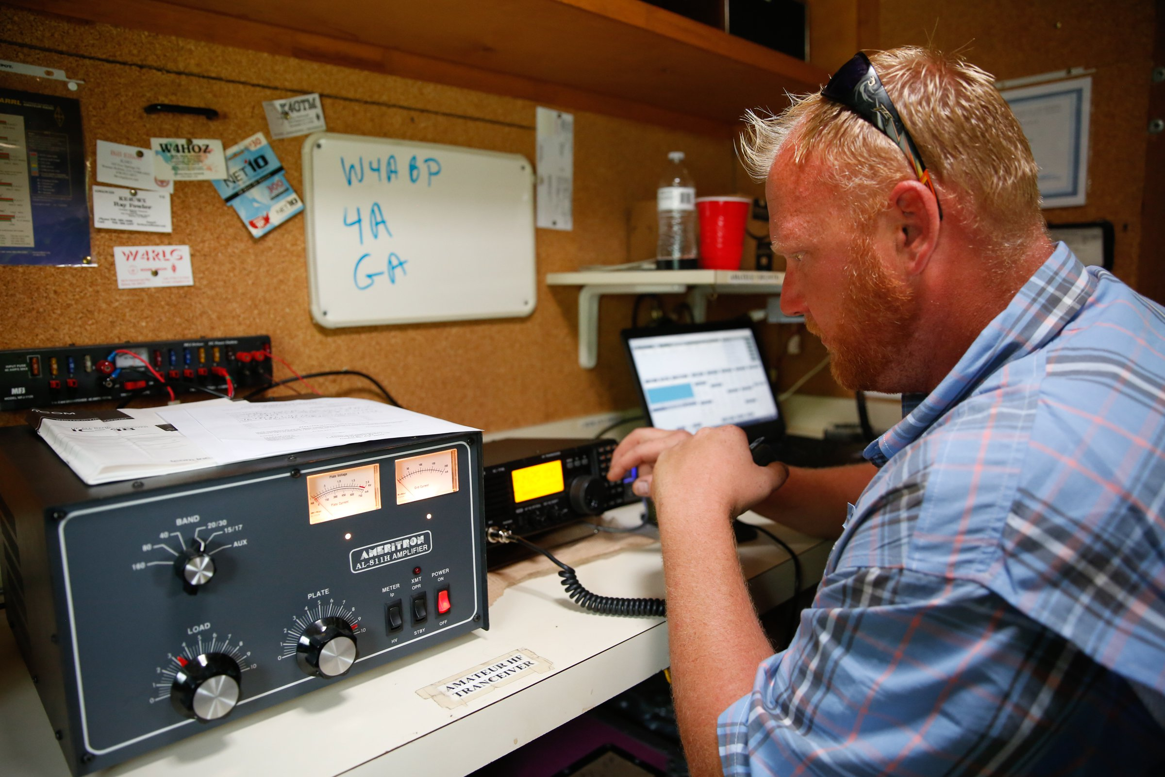 Radio club uses Field Day to spread the word about ham radio