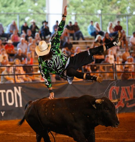 See how bullfighters fared in Gainesville event on Saturday