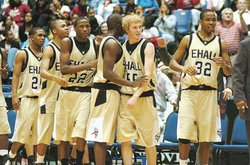 East Hall Basketball 2005